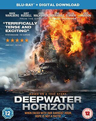 Deepwater Horizon [Blu-ray + Digital Download]  [2016] -  CD RFVG The Fast Free