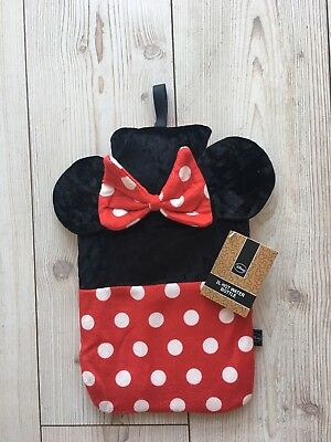 Primark Disney Minnie mouse 2L hot water bottle bnwt