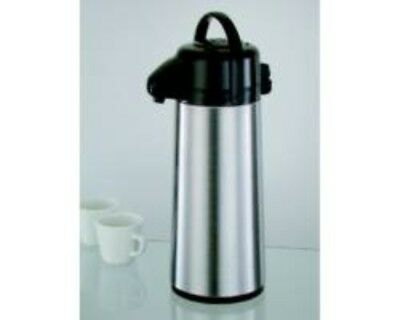 Restaurant Equipment NEW EDWARD DON AIRPOT PUMP ACTION 2.5 LITER STAINLESS STEEL