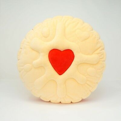 Zero Calorie Jammy Biscuit Cushion Cute Christmas Gift Idea Valentine Day