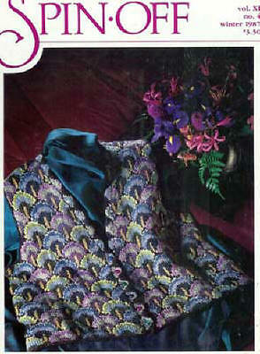 Spin-off magazine winter 1987 black welsh kaffe fassett