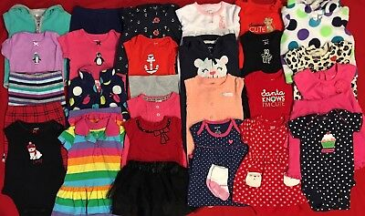 EUC Adorable Baby Girl Fall & Winter CLOTHES LOT Outfit Sets 3 Months Lot # 7