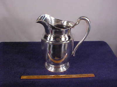 """Vintage STERLING Silver 5-Pint WATER PITCHER--""""WE39"""""""