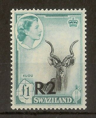 Swaziland 1961 2R on £1 SG77 MNH Cat£26