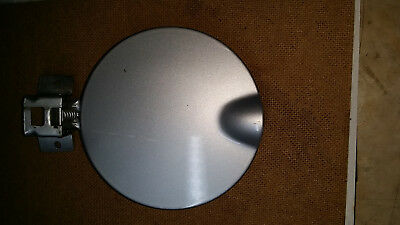 Off a SAAB 93 Convertible Manual Fuel-filler Flap silver