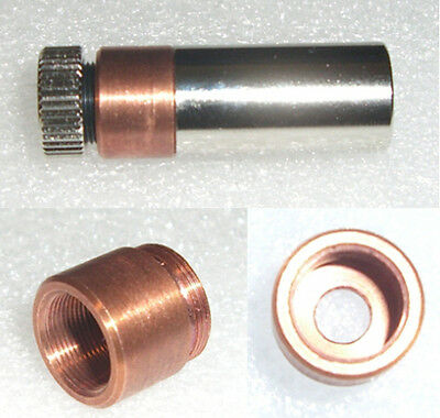 Copper 5.6mm diode mount for 12 X 30mm laser module blank