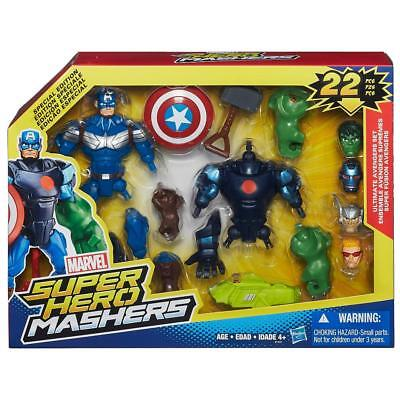New Hasbro Marvel Super Hero Mashers Ultimate Avengers Set B1431