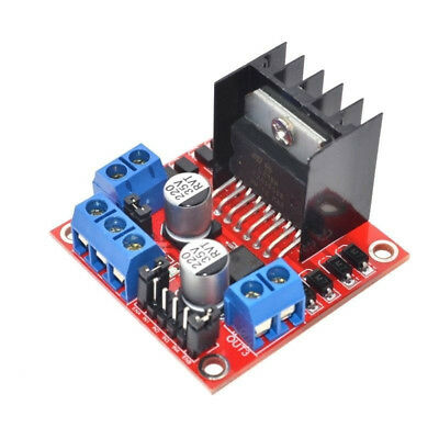 L298N DC Stepper Motor Driver Module Dual H Bridge Control Board for Arduino IF