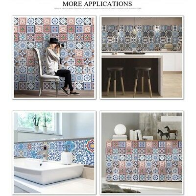 Backsplash Tile Stickers Traditional Talavera Tiles Stickers Bathroom&Kitchen AU