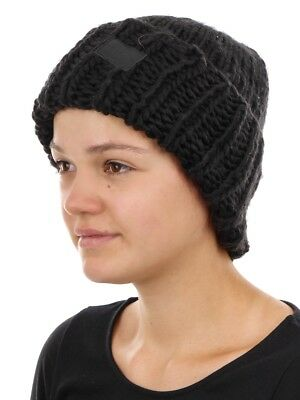 O'Neill Beanie Knitted Cap Black Rose Chunky Knitted Warming