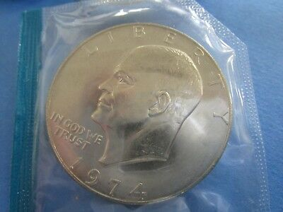 "1974 .usa, American ""ike""  Eishenhower  One 1 Dollar  Unc"