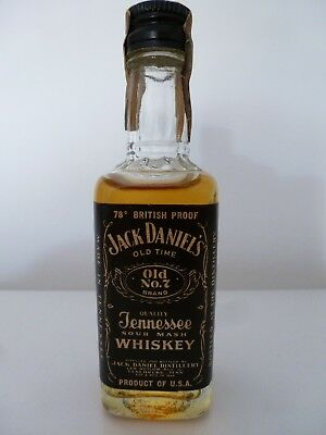 Mignon  Jack Daniel's 78 British Proof  Anno 77