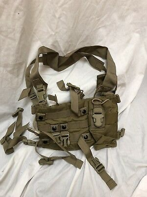 Eagle Industries Low Profile Special Purpose Chest Rig Khaki SEALs Large Buckle