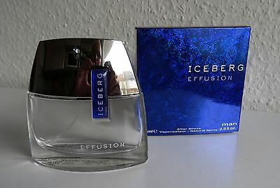 Leerer Vaporisateur ICEBERG EFFUSION After Shave 75 ml