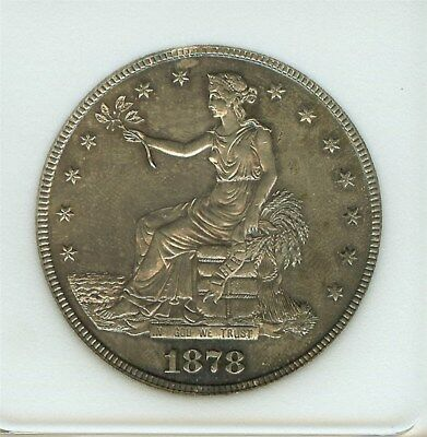 1878-S Seated Silver Trade Dollar  Choice Uncirculated  Scarce This Nice!