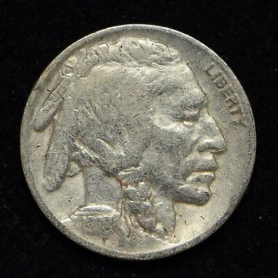 1918 Buffalo Nickel United States Coin {Coin Is Correded & Cleaned} (cn4311)
