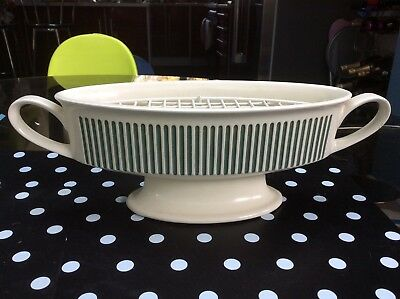 HORNSEA POTTERY Classic JARDINIERE with orig WIRE FLOWER BASKET * No 837 * VGC