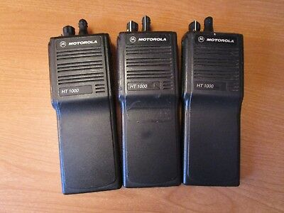 HT1000  Working HT1000's H01RDC9AA3DN UHF 403-470 MHz Ham Public Service GMRS