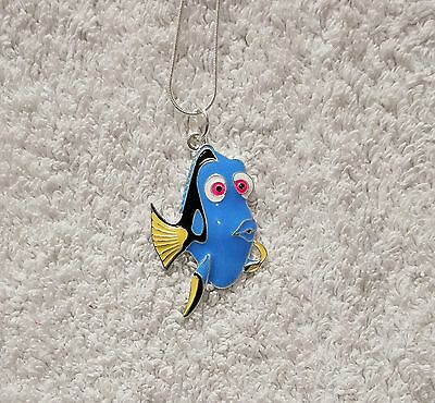 FINDING DORY Finding NEMO MOVIE Inspired Large Charm NECKLACE Regal Tang Fish