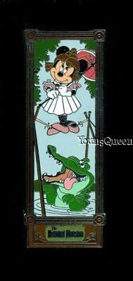 Disney Haunted Mansion Stretching Room Portrait Minnie on Tightrope Tick Toc Pin
