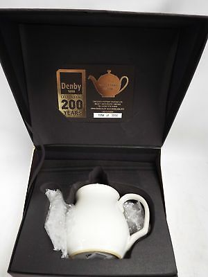 DENBY 200 years celebrating 1 Cup Teapot BOXED With Numbered COA - BA3