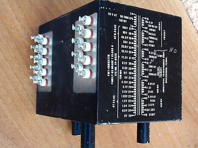 TV7A/U - Trasformer x Provavalvole - With One Out BAD ! - Pin Reference 14>15 -