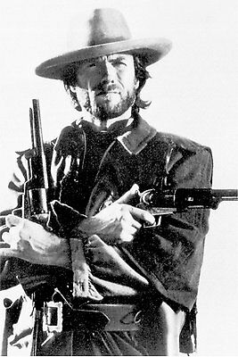"The Outlaw Josey Wales movie poster 24 x 36"" Clint Eastwood Guns"