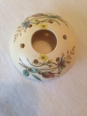 Axe Vale Pottery Pomander / Vase. Great Condition.