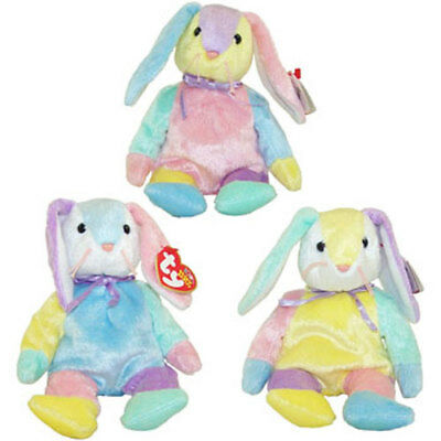TY Beanie Babies - DIPPY the Rabbit (Set of 3 Variations) (8.5 inch) - MWMT's