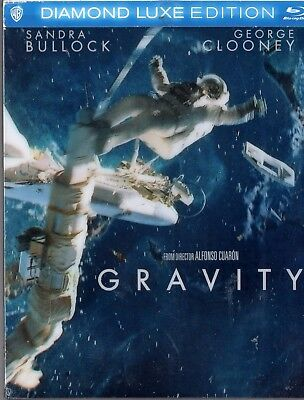 Gravity [Blu-ray2 Disc] DIAMOND LUXE EDITION Sandra Bullock, George Clooney  NEW