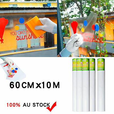 60cm x 10M Clear Transfer Application Vinyl Film Paper Tape For Plotter Cutter L