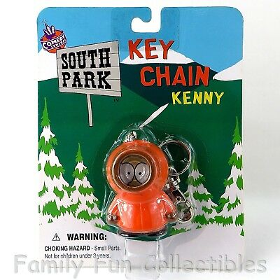 SOUTH PARK~1998 Fun 4 All~Key Chain Ring~Kenny~PVC Cartoon Comedy Figure~NEW MOC