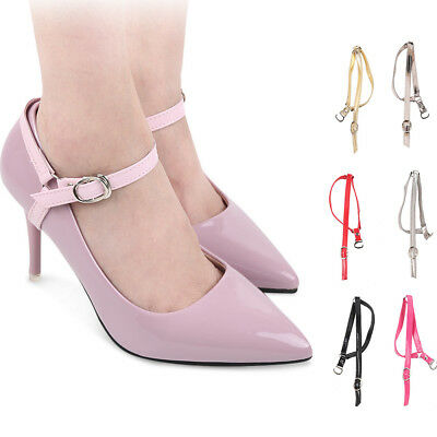 Detachable Leather Shoe Belt Strap Band Holding for High Heeled Shoes Colors New