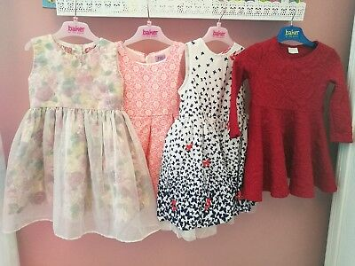 bundle of 4 baby girl party dresses 18-24months 1.5-2years