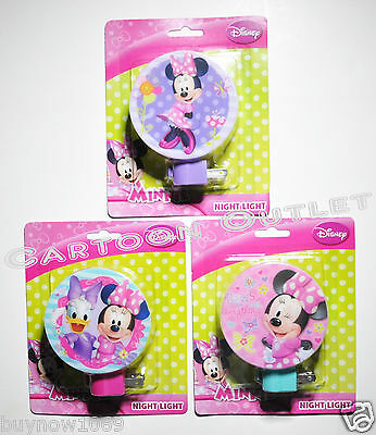 Minnie Mouse Nightlight Plug In With Light Bulb 1 @ Random Decor Night Light