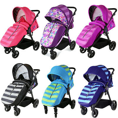 iSAFE Sail Stroller Pushchair Unisex Colors + Free Rain Cover + Bumper Bar