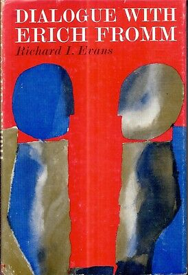 1966 First Edition Dialogue With Erich Fromm Freud Psychology With Dj