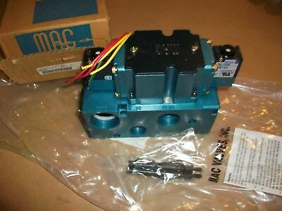 MAC Pneumatic Solenoid Valve 6521B-511-PM-111DA   NEW IN BOX