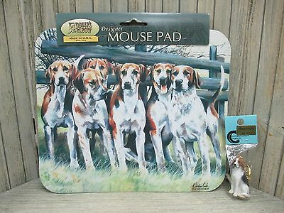 American Foxhound Items - Mouse Pads & Key Chains