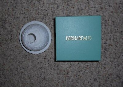 "BERNARDAUD LIMOGES ""NATIVITY"" Lithophane Tea Light Votive Candle Holder with Box"