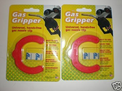 2~ Gas Gripper Universal Hands Free Gas Nozzle Clip