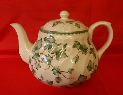 Bhs Country Vine Pattern Large Tea Pot British Home Stores