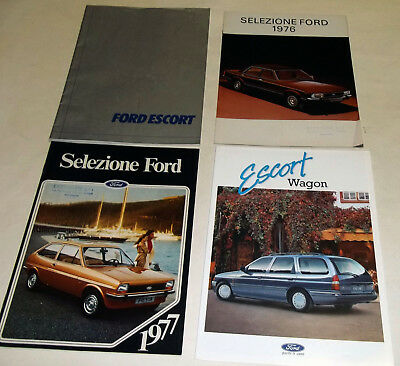 ( lotto 1567 ) - FORD quattro depliant/ brochure
