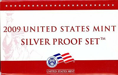 Gorgeous 2009 United States Mint Silver Proof Set BF 287