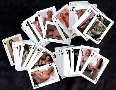 Sexy Ladies Full Set Sealed Box Adult Poker Playing Cards Pin-Ups Art Stockings