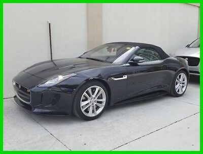 2017 Jaguar F-Type S 2017 S Used Certified 3L V6 24V Automatic AWD Convertible Premium
