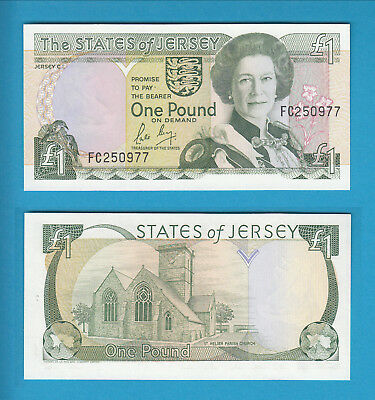 JERSEY - The States of Jersey -  1 Pound -  2000