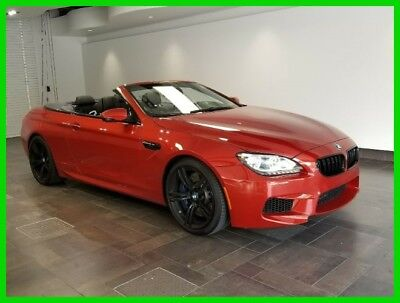 2014 BMW M6 Base Convertible 2-Door 2014 Used Turbo 4.4L V8 32V RWD Convertible Premium