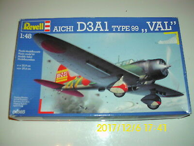 "Revell 04565, Aichi D3A1 TYPE 99 "" VAL "", + Pearl Harbor +, neu"