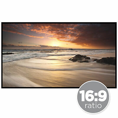 Best Choice Products 120in 16:9 Portable Movie Projector Screen - White